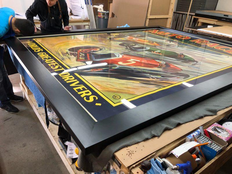 Oversized Framing